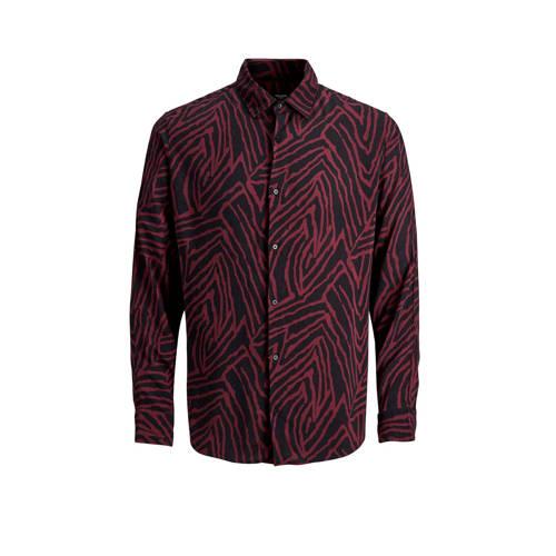 JACK & JONES PREMIUM regular fit overhemd met