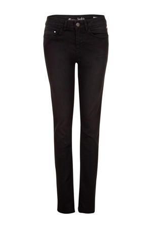 slim fit jeans Jackie zwart 32 inch