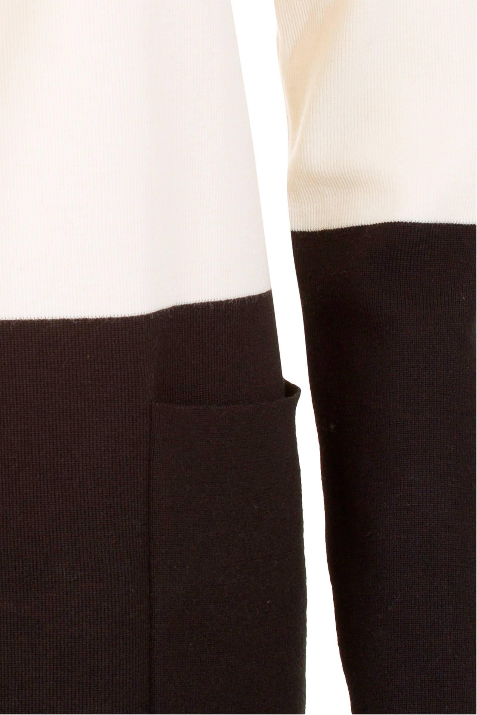 Promiss Vest Met Wol Beige En Zwart P3MezsRW