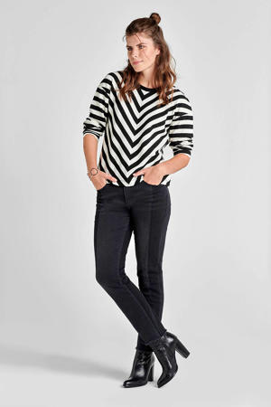 Regulier regular fit jeans zwart