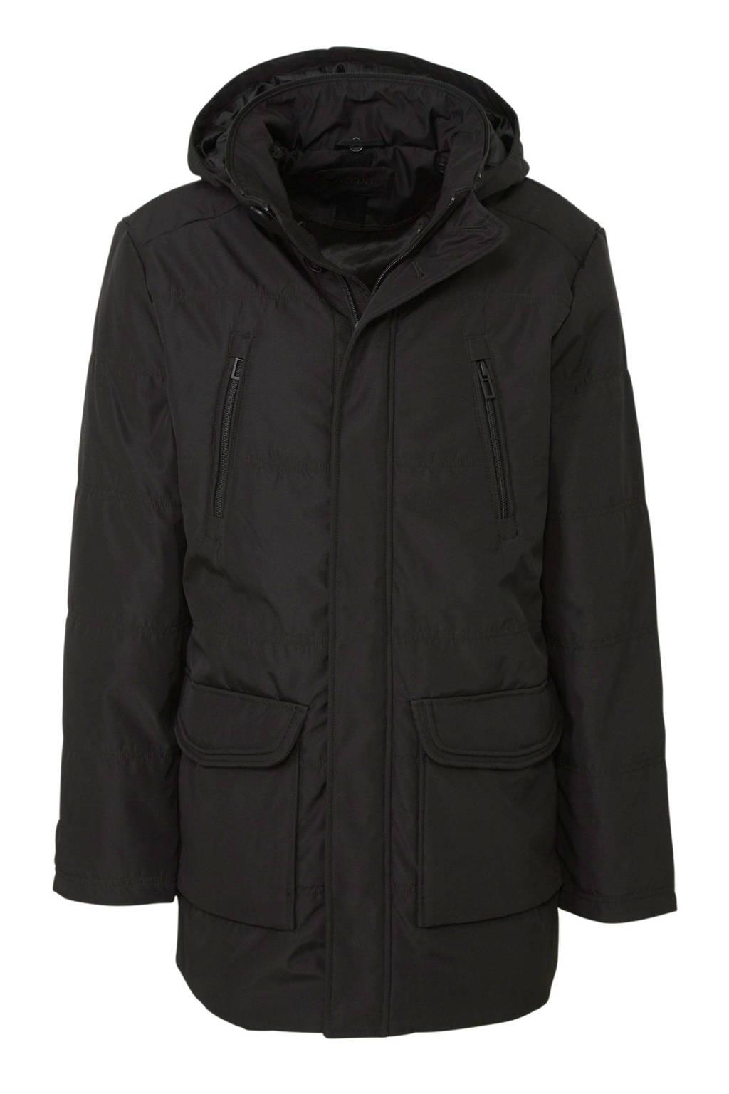 C&A Canda winterjas zwart, Zwart