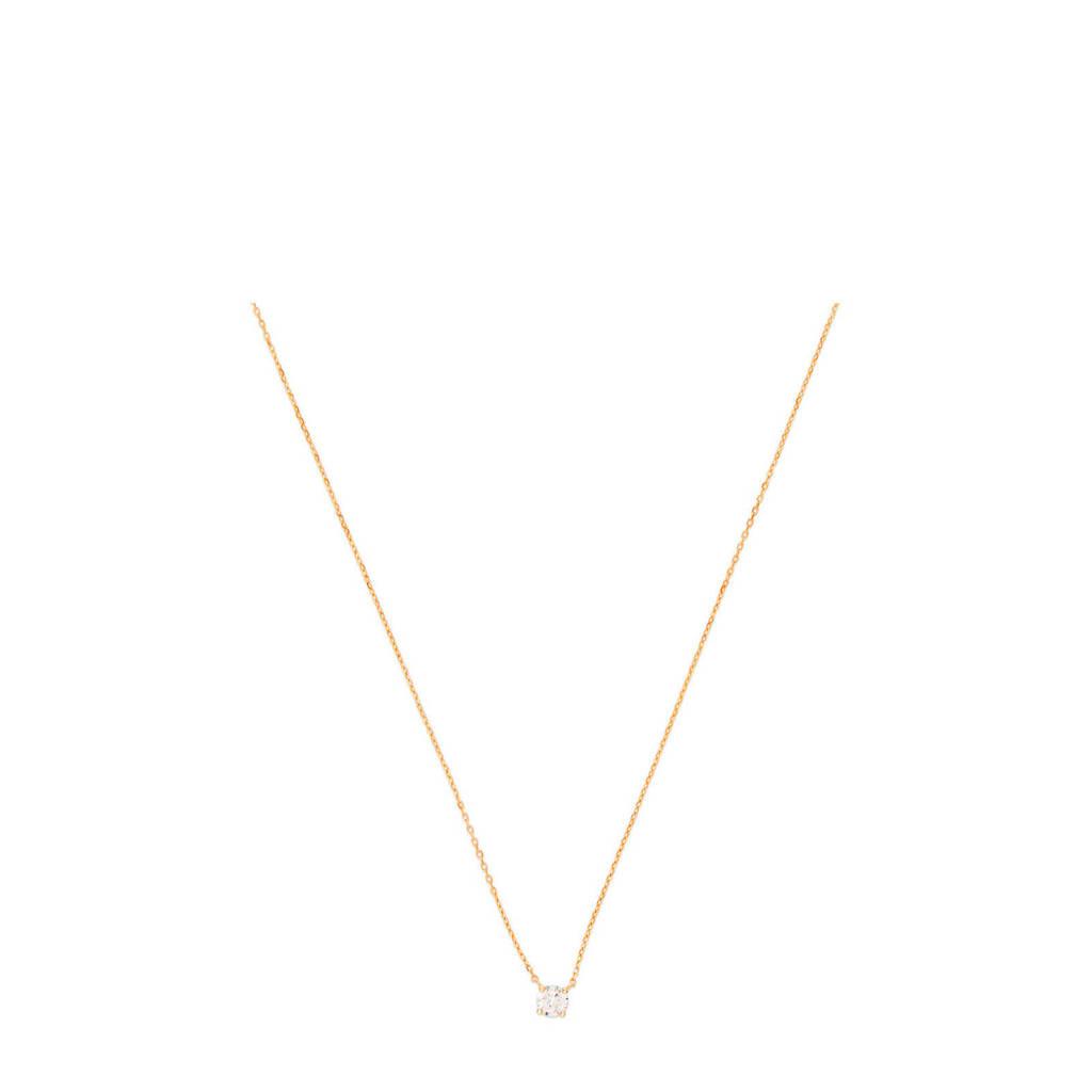 Isabel Bernard 14 karaat gouden ketting - B4016260, Goudkleurig