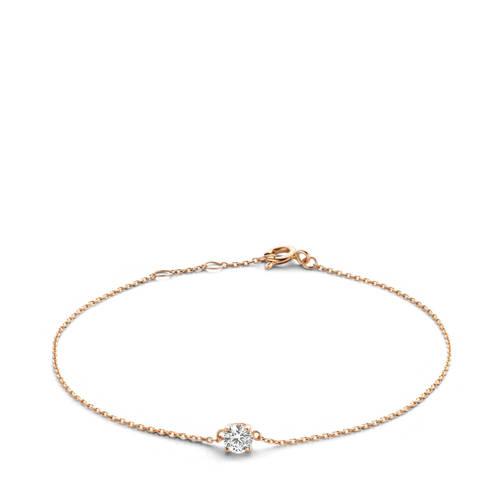 Isabel Bernard armband IB4400927 ros??goud