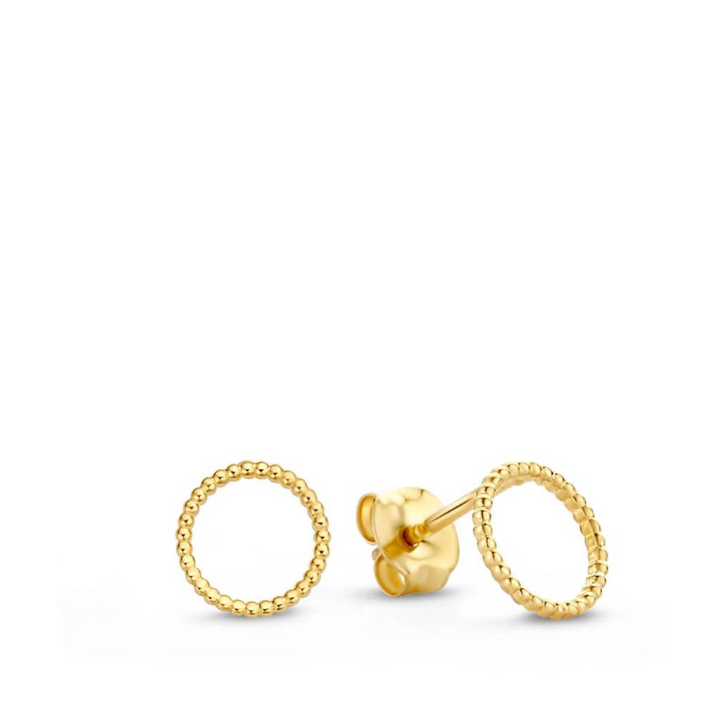 Isabel Bernard 14 karaat gouden oorbellen - IB4018959, Goudkleurig