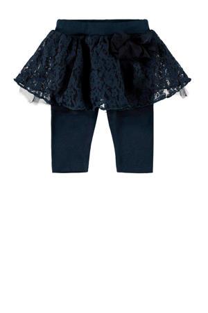 BABY set legging+rok donkerblauw