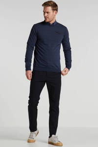 PME Legend gestreepte sweater blauw, Blauw