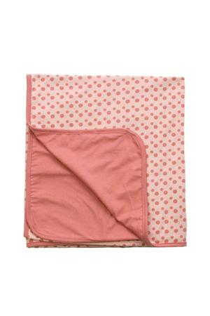baby wiegdeken zomer 75x100 cm roze