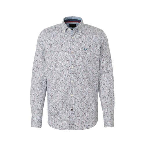 PME Legend slim fit overhemd met all over print wi