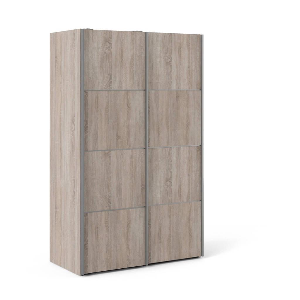 W zweefdeurkast Verona, Eiken, 201,5x122,1x64 cm