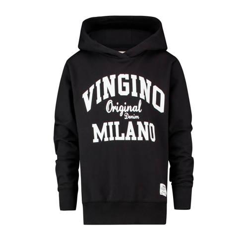 Vingino hoodie Mumfry met logo zwart