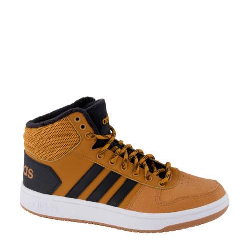 adidas Hoops Mid 2.0 hoge sneakers bruin