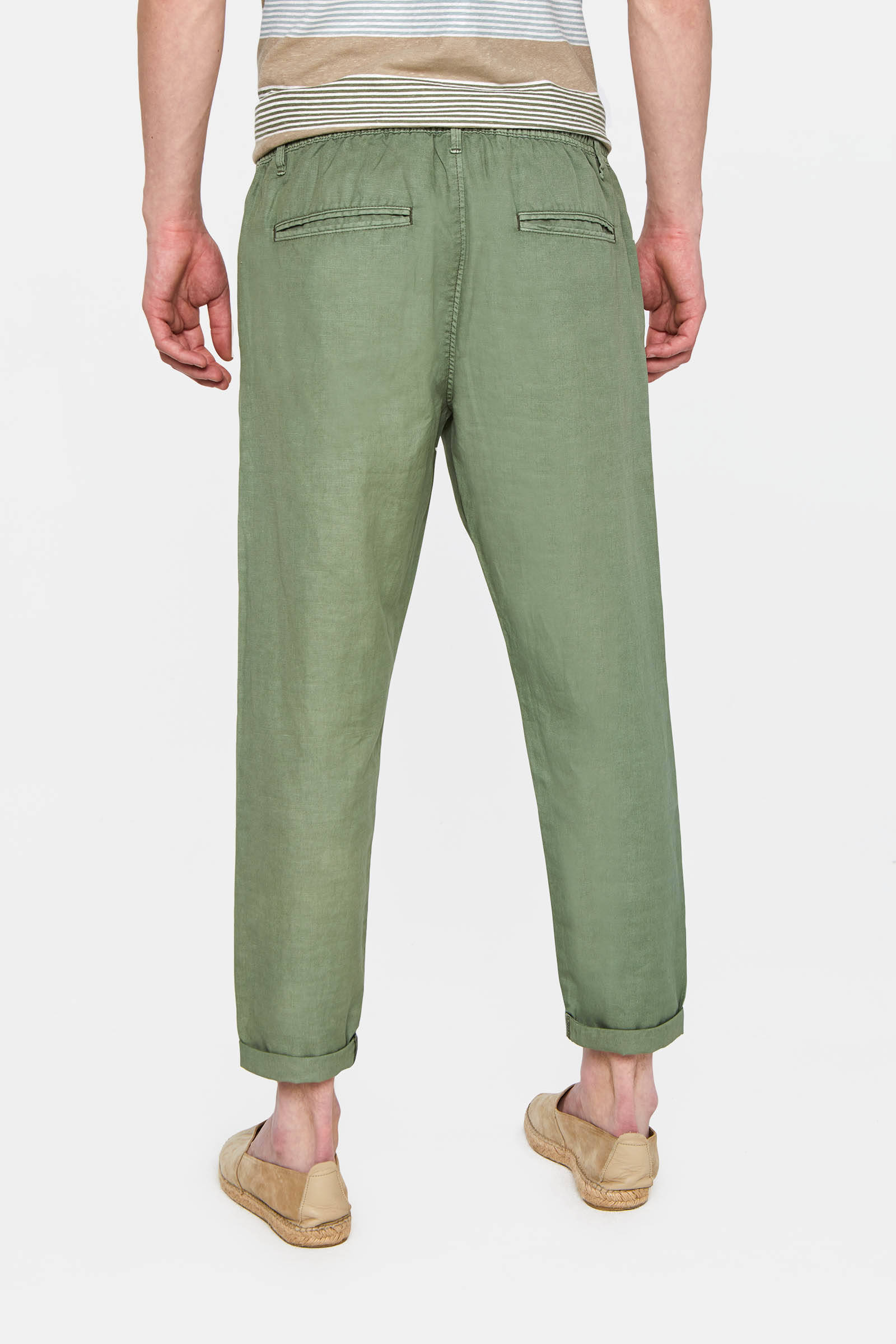 loose fit chino new ivory