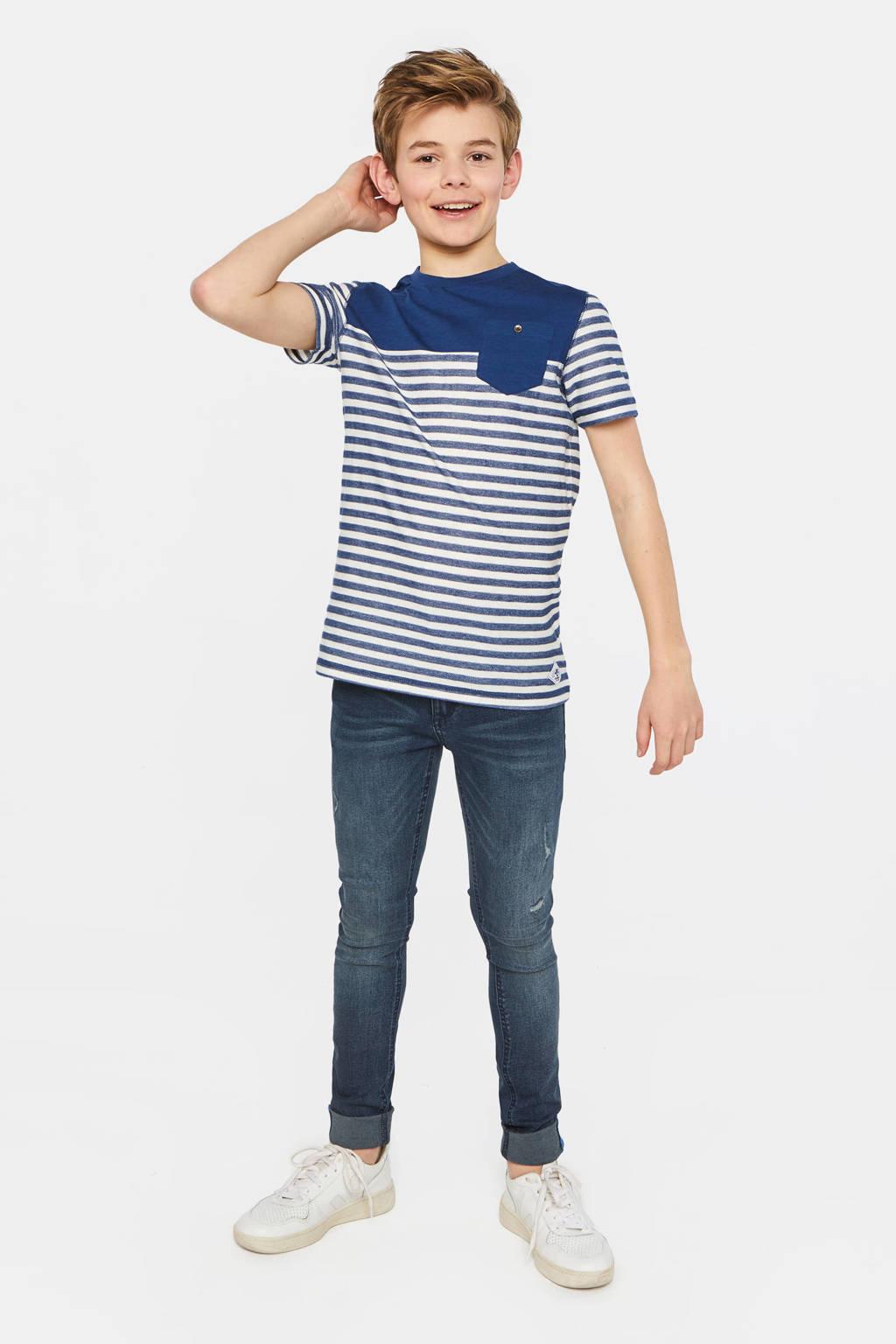 WE Fashion Blue Ridge super skinny jeans Salvo Salt dark denim, Dark denim