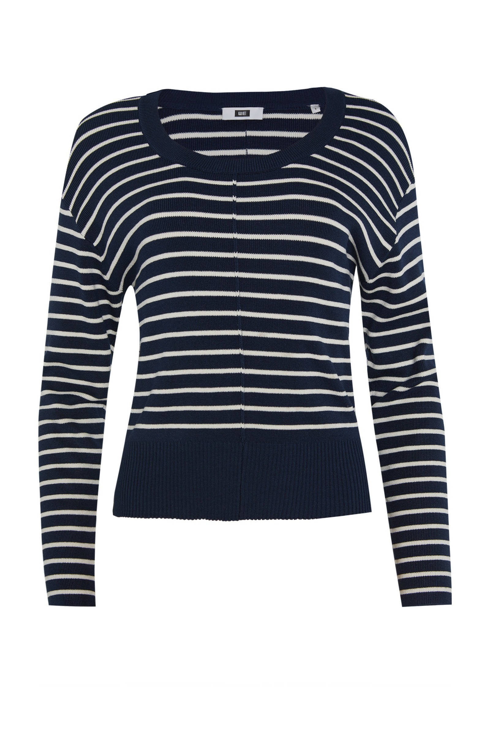 Gestreepte Dames Trui Blauw | Themusthaves.nl