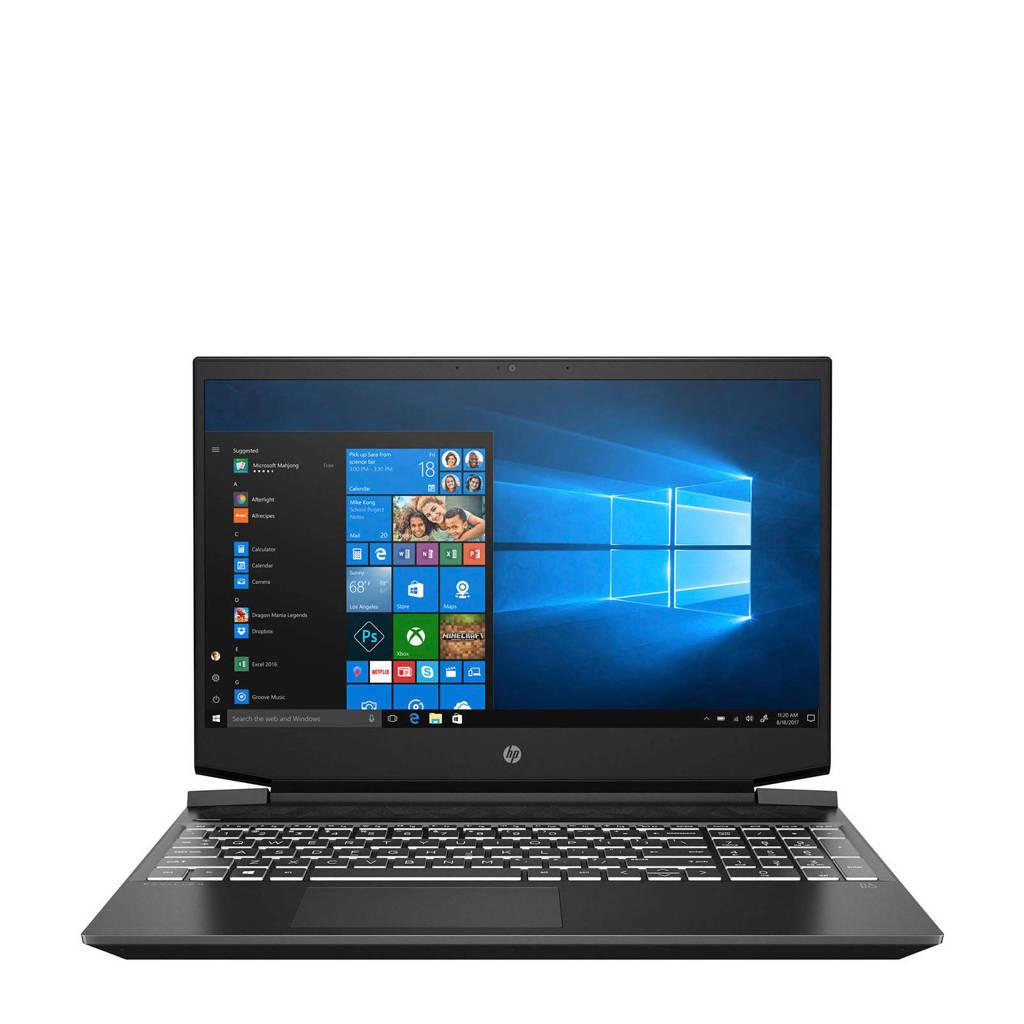 HP Pavilion 15-EC0250ND 15.6 inch Full HD gaming laptop, Zwart