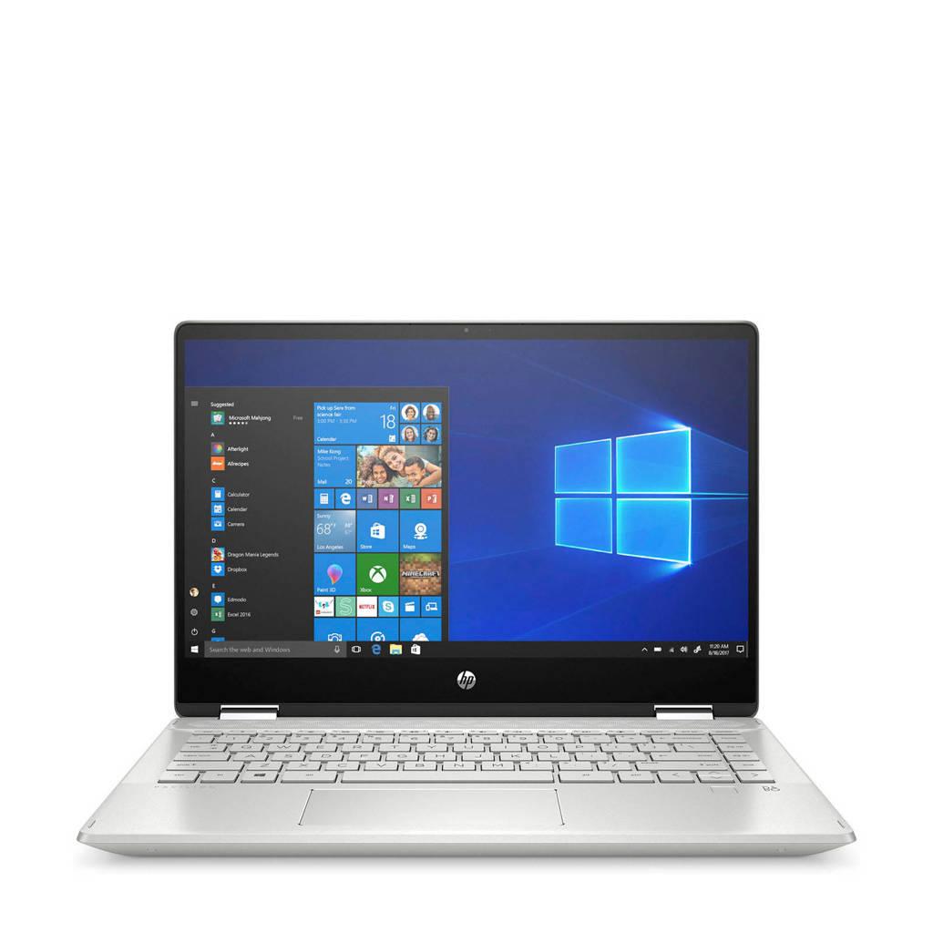 HP 14-DH1005ND 14 inch Full HD 2-in-1 laptop, Zilver