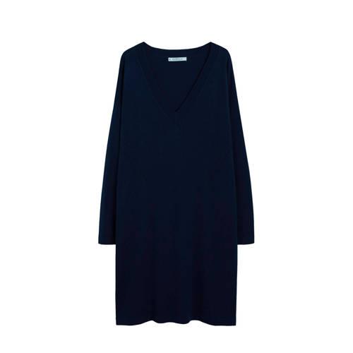 Violeta by Mango gebreide jurk zwart