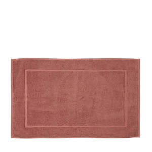 badmat (50x80 cm) Roodbruin