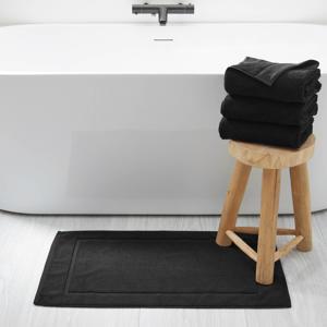 badmat (50x80 cm) Zwart