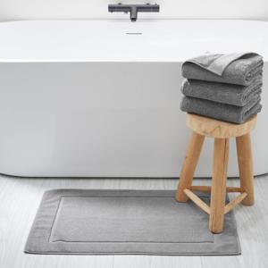 badmat (50x80 cm) Grijs