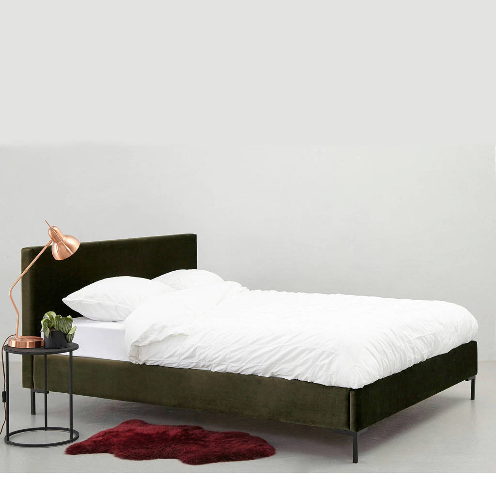 whkmp's own compleet bed Premium Malmo, Groen