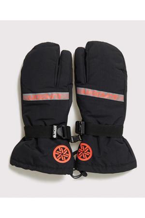 Sport ski handschoenen zwart