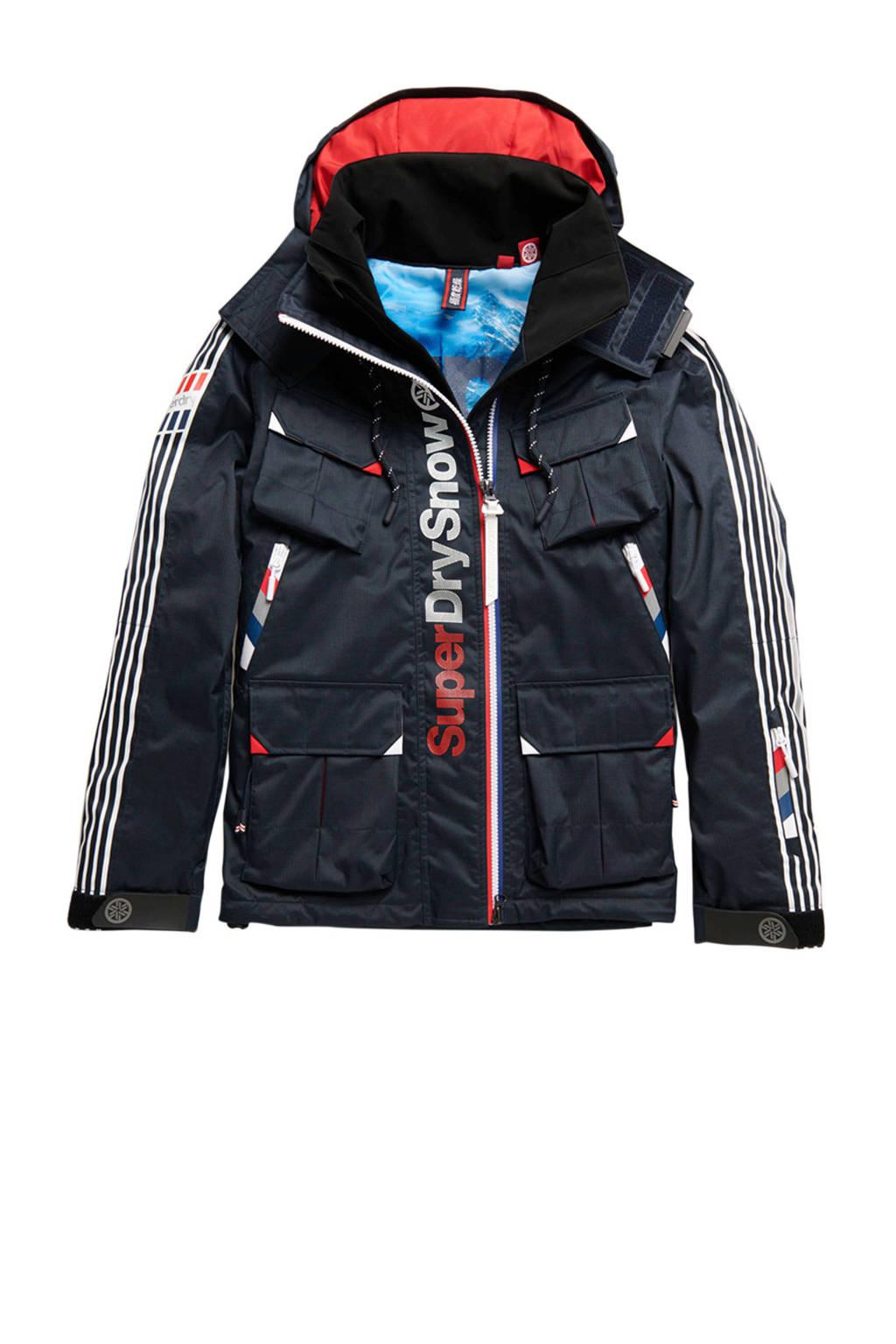 Superdry Sport ski-jack donkerblauw, Donkerblauw