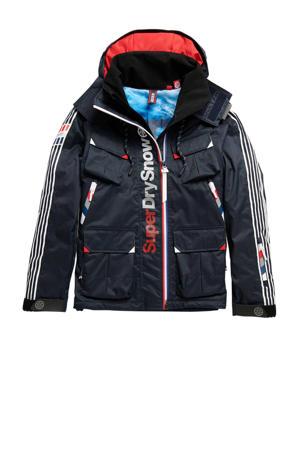 ski-jack donkerblauw