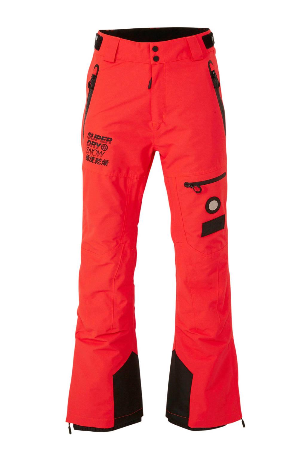 Superdry Sport skibroek oranje, Oranje