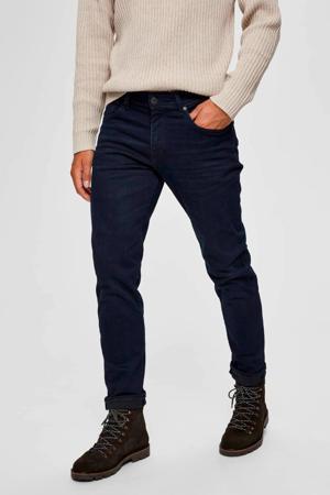 straight fit jeans blue black denim