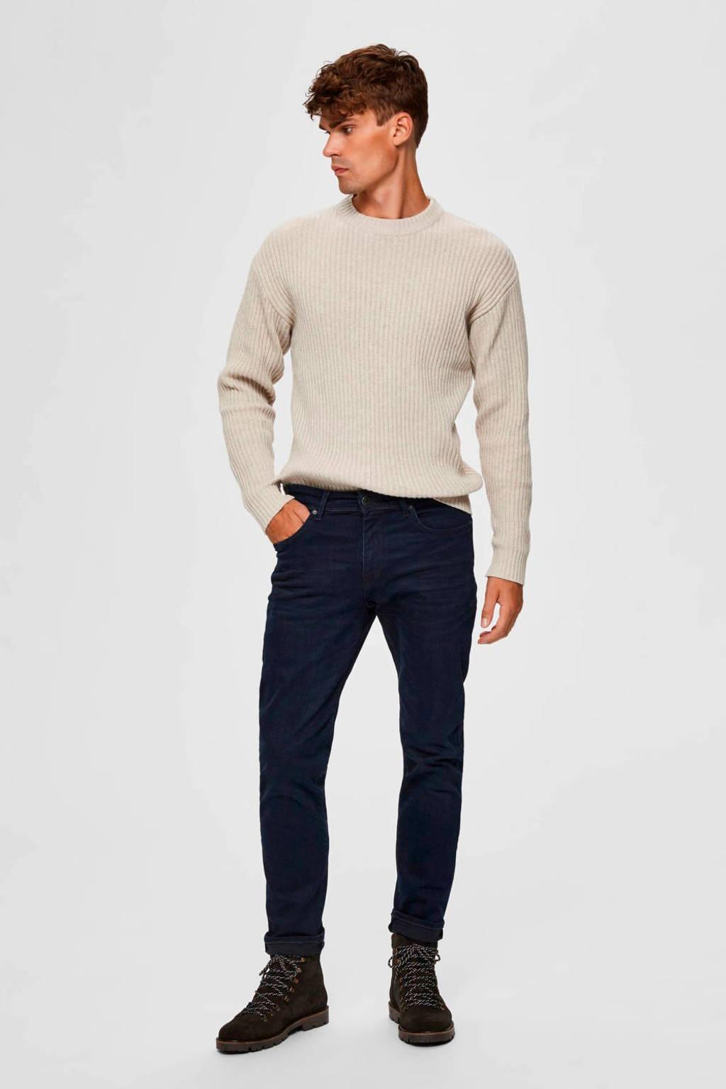 SELECTED HOMME straight fit jeans blue black denim