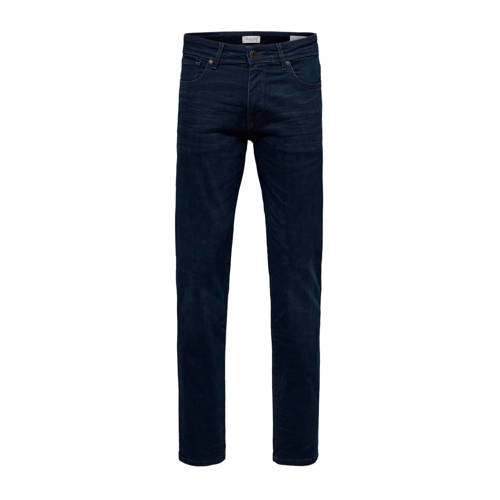 SELECTED HOMME straight fit jeans blue black denim