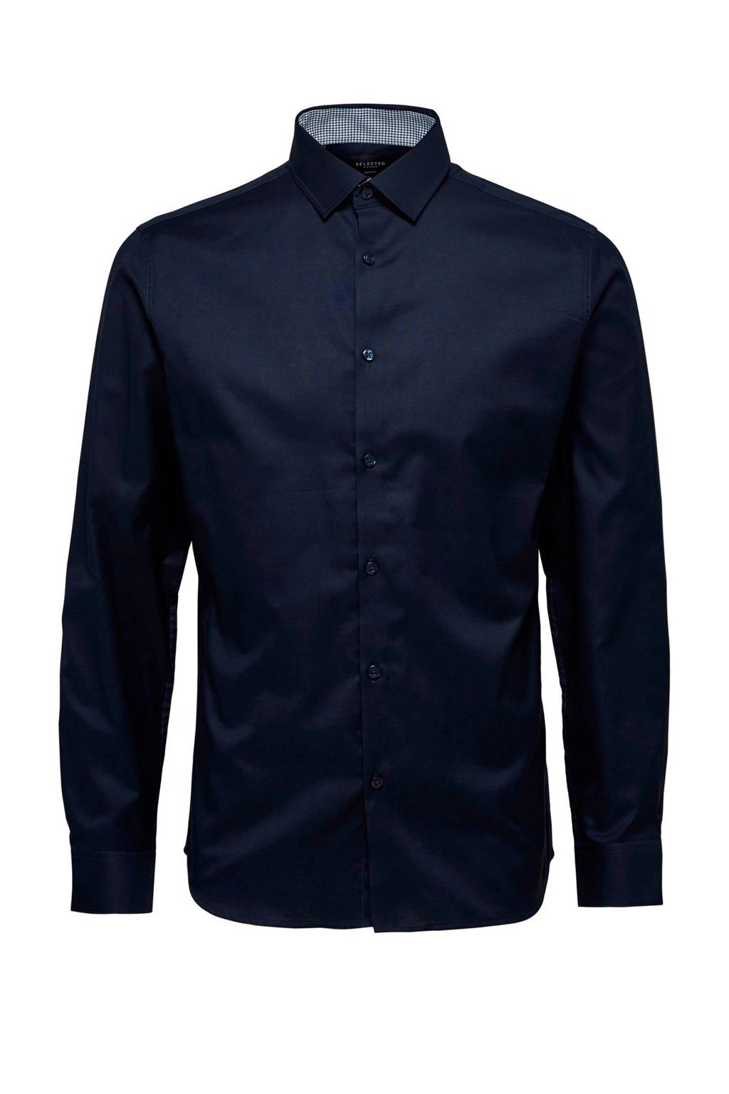 Selected Homme +Fit regular fit overhemd marine, Marine