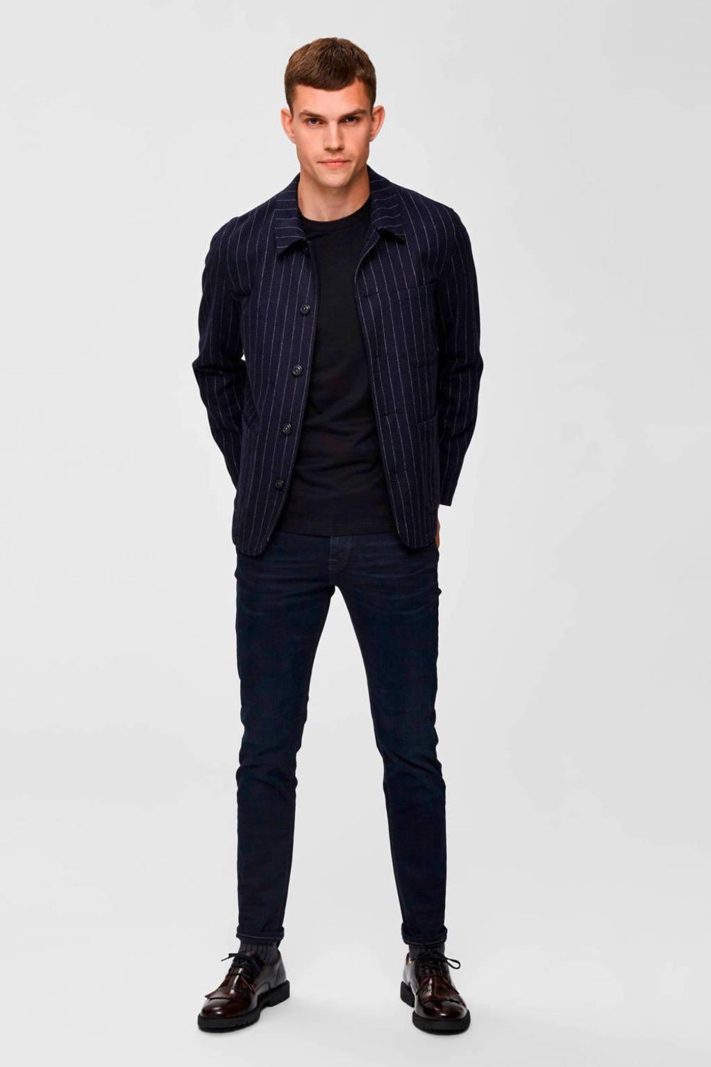 SELECTED HOMME slim fit jeans blue black denim