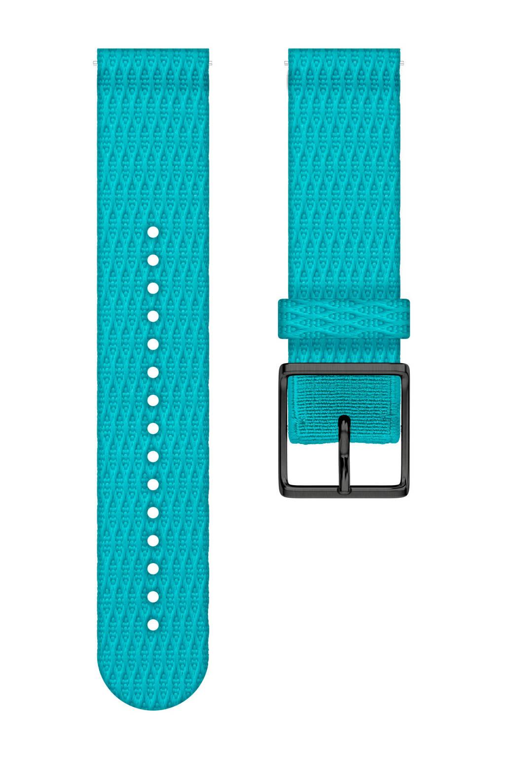 Polar  Ignite verwisselbare polsband turquoise - maat S, Turquoise