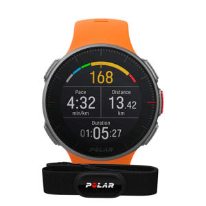Vantage V multisporthorloge oranje inclusief H10 hartslagmeter