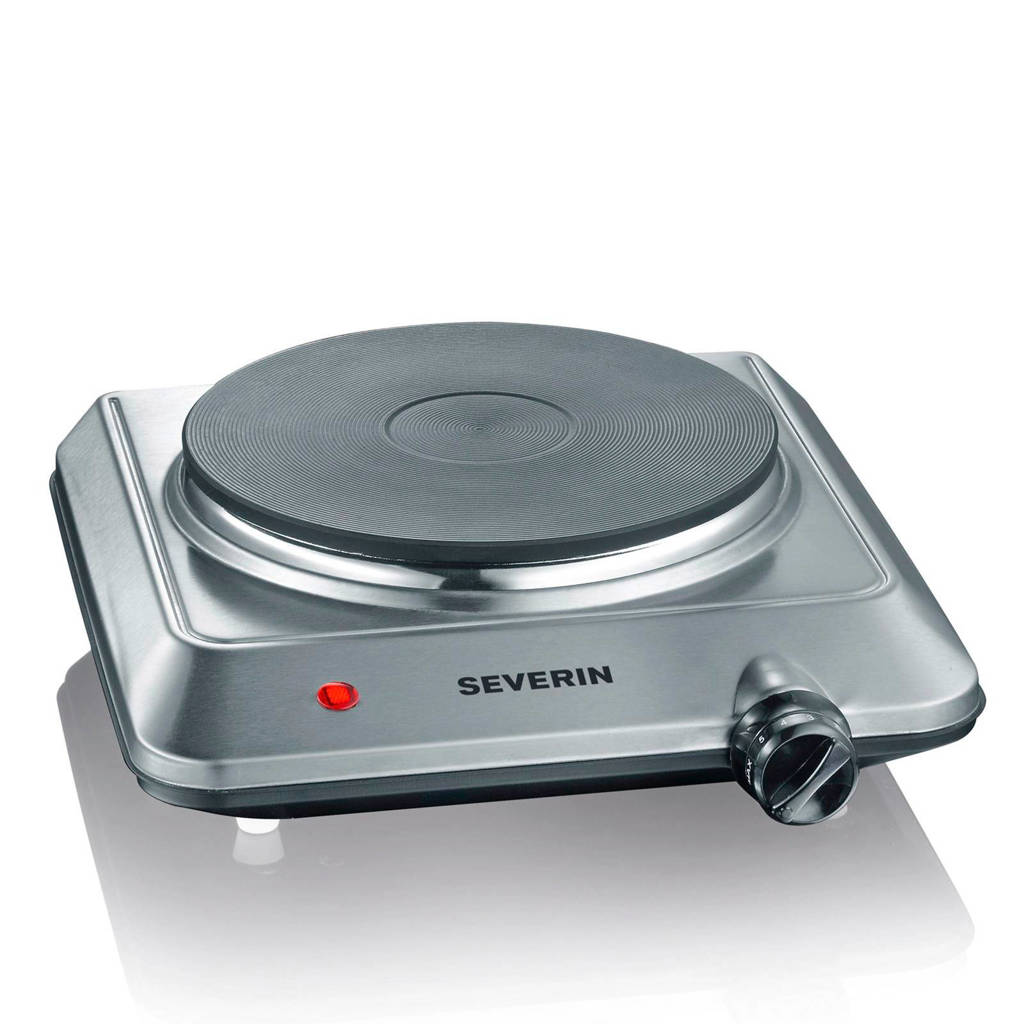 Severin KP1092 elektrische kookplaat, Grijs
