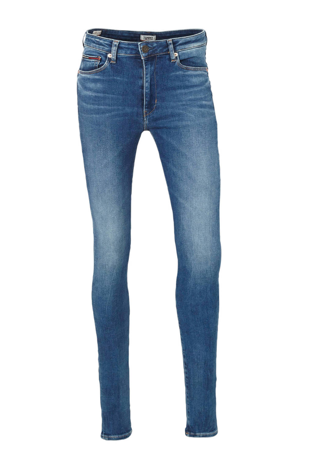 Tommy Jeans skinny jeans maine mid blue, Maine mid blue