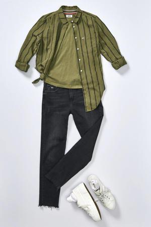 Izzy slim fit jeans donkergrijs