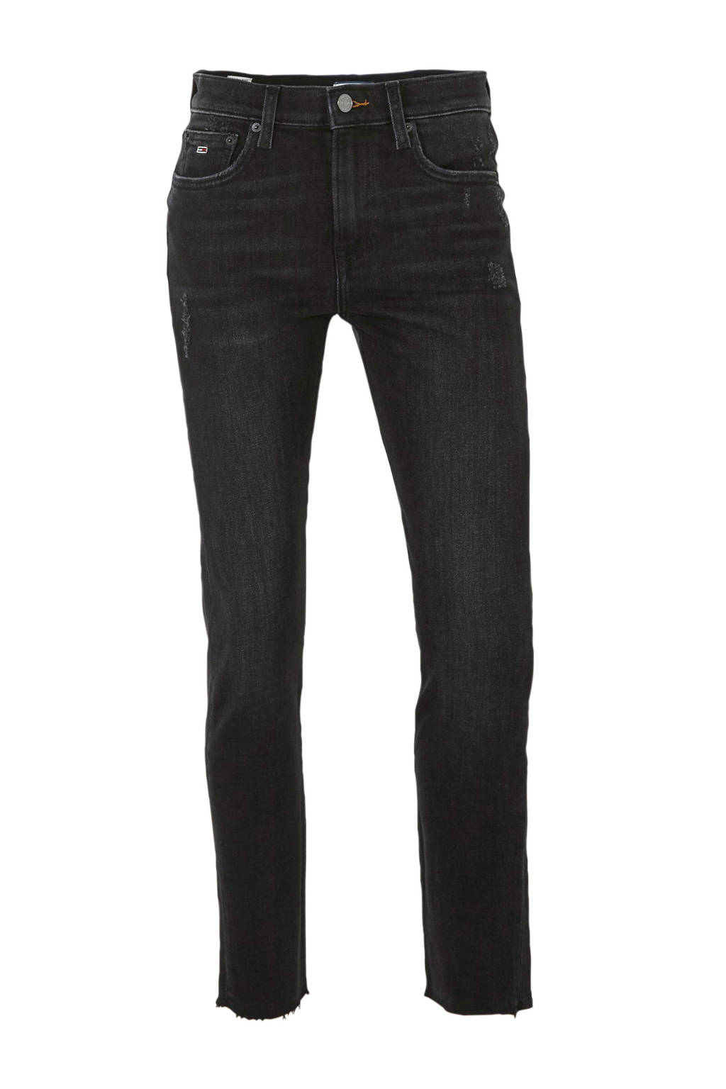 Tommy Jeans slim fit jeans donkergrijs, Donkergrijs