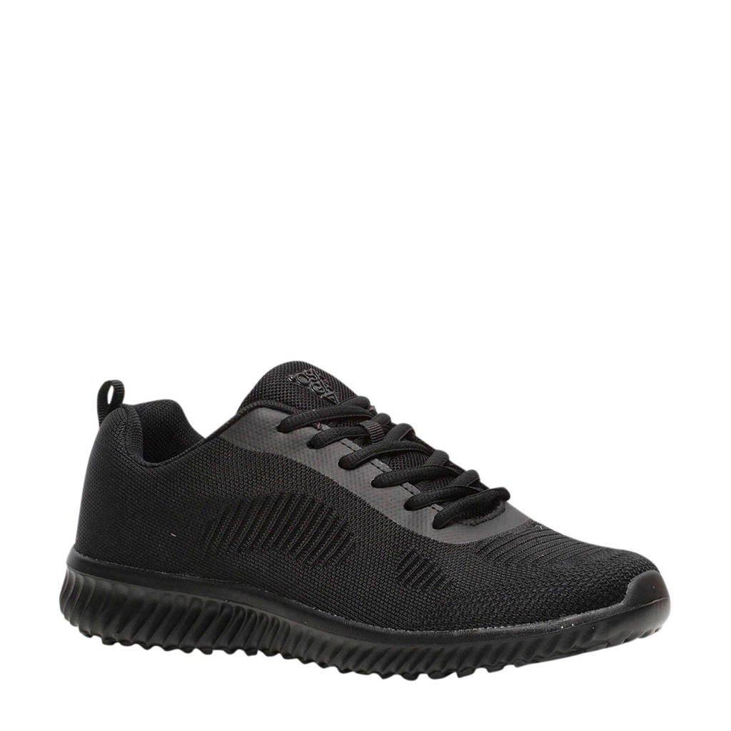 Scapino Osaga   sportschoenen zwart, Zwart