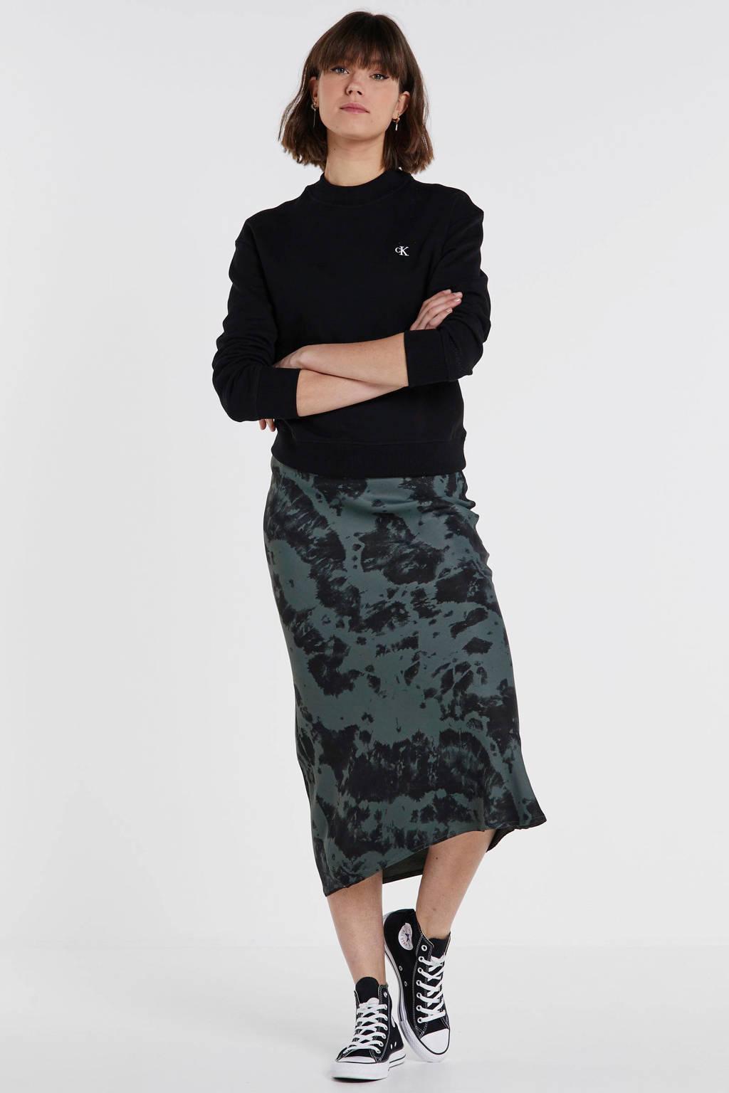 CALVIN KLEIN JEANS sweater zwart, CK BLACK