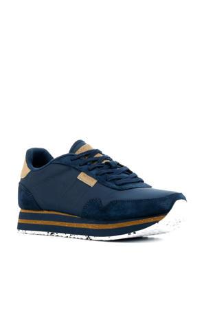 Nora II Plateau  sneakers blauw