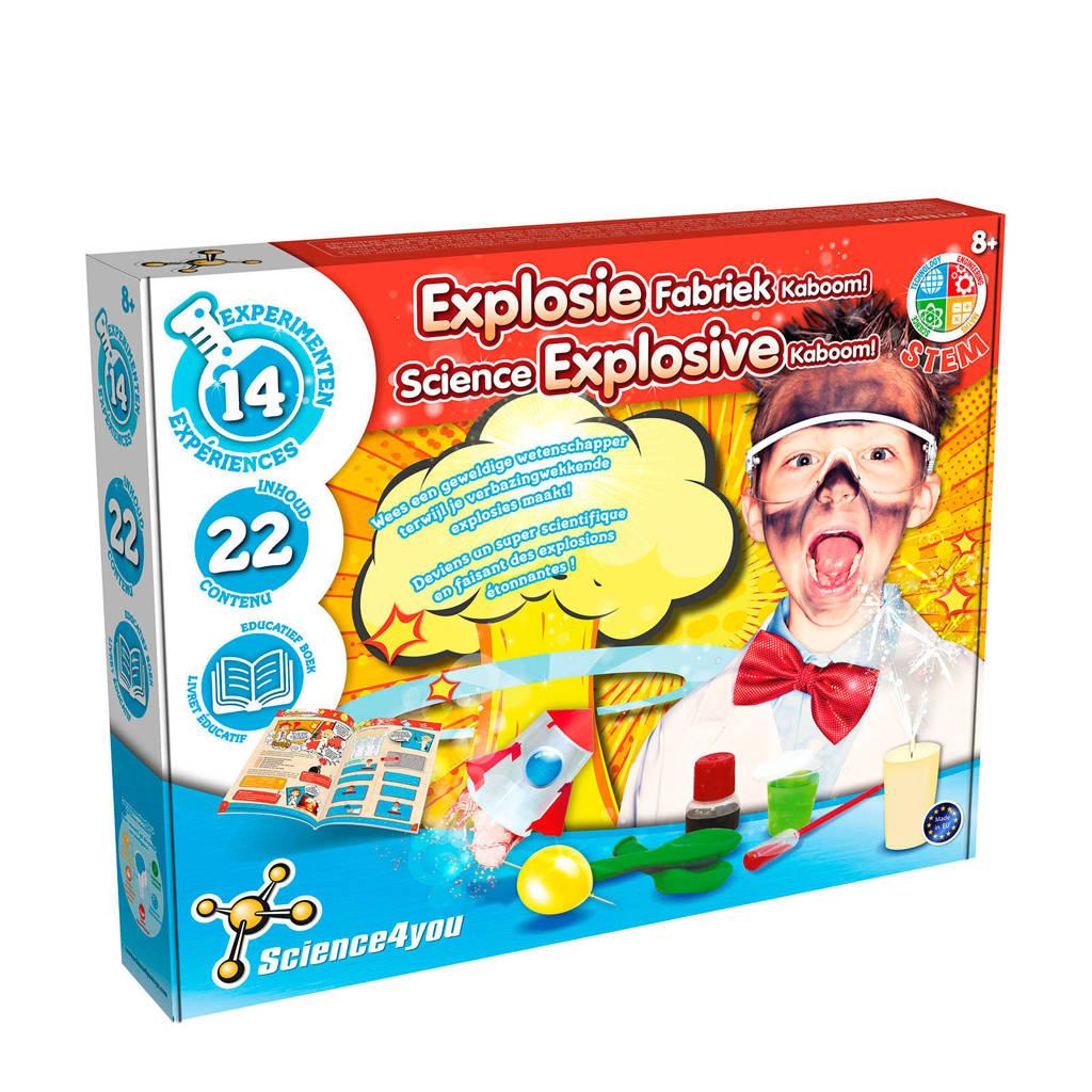 Science4You  Explosiefabriek Kaboom