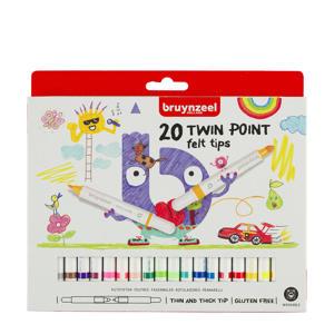 viltstiften twin point (20 st.)