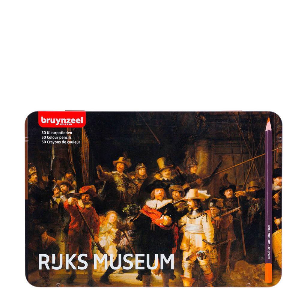 Bruynzeel  Kleurpotloden Grote Meesters (50 st.)