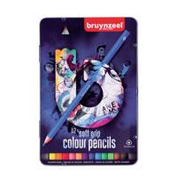 Bruynzeel  kleurpotloden soft Teens blauw (12 st.)