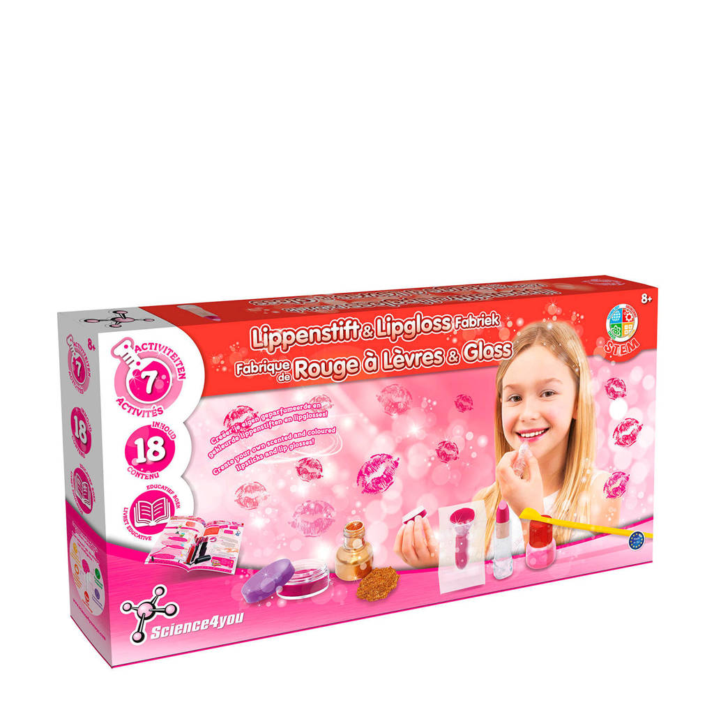 Science4You  Lipstick & Lip gloss fabriek superset