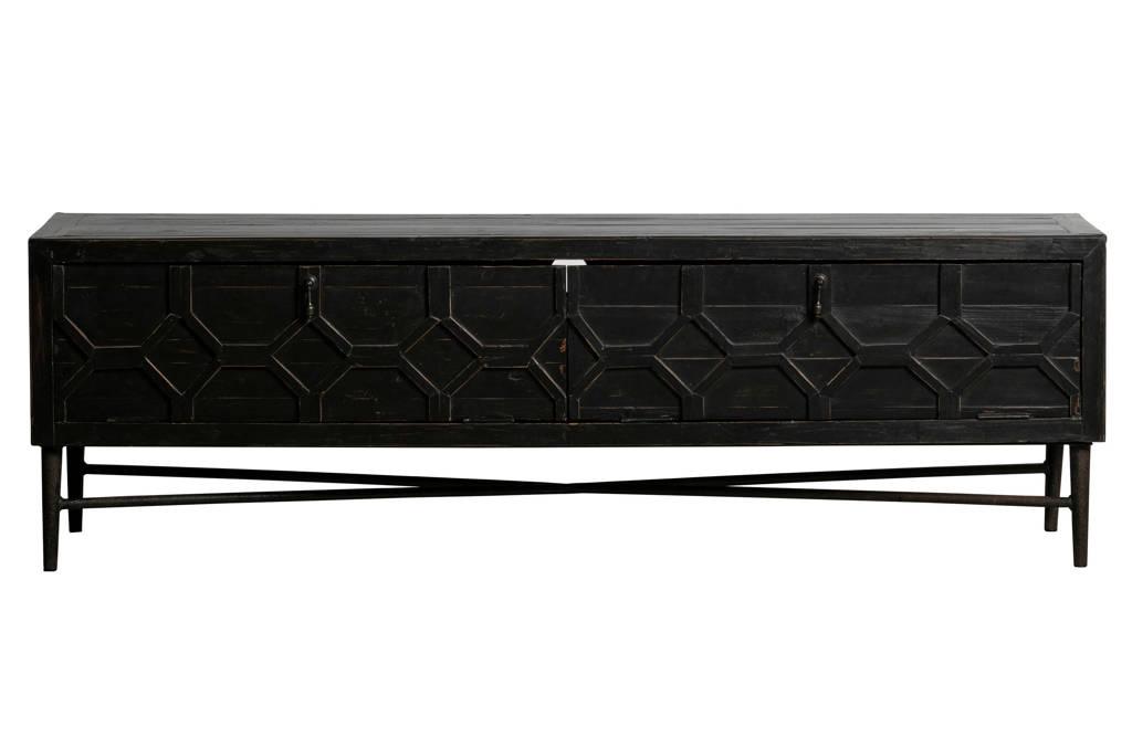 BePureHome TV-meubel Bequest, Zwart