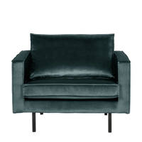 BePureHome fauteuil Rodeo, Petrol